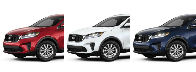 What Are The 2019 Kia Sorento Color Options