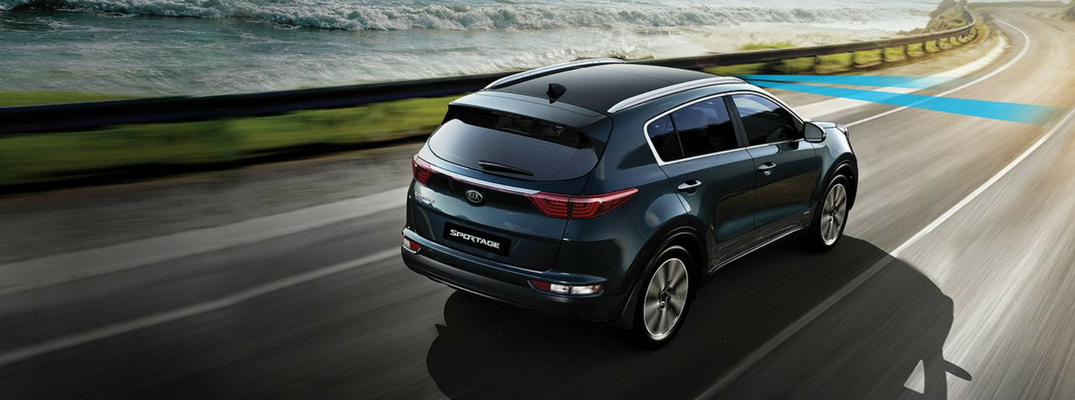 2019 Kia Sportage Lane Departure Warning System Illustration