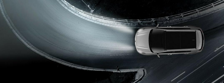 2019 Kia Sportage Overhead View of Sparkling Silver Exterior