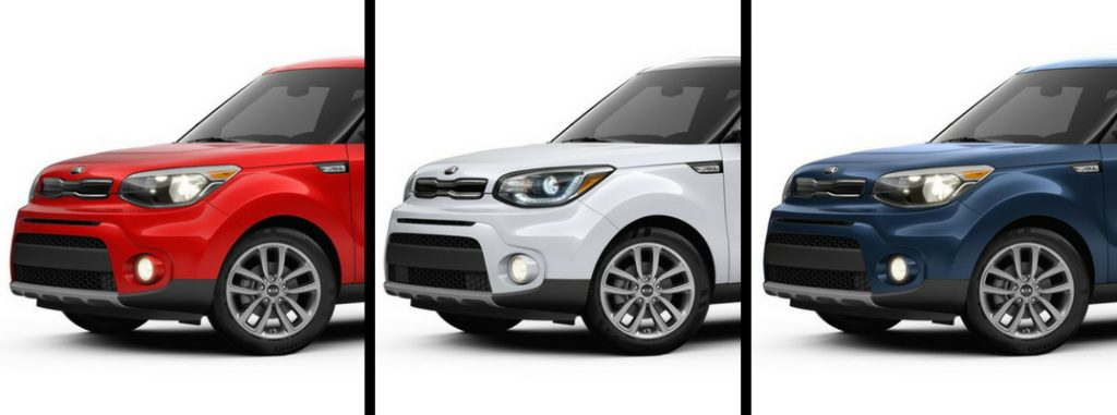 Pictures of the 2019 Kia Soul exterior paint color options