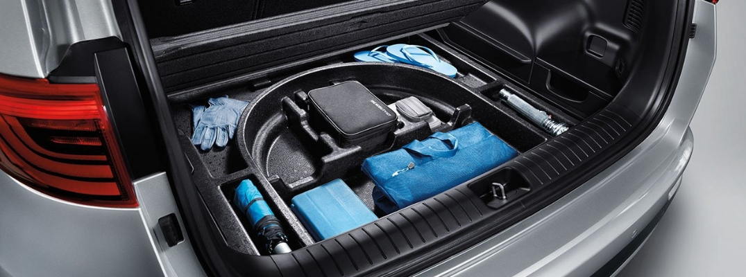 2019 Kia Sportage Showing Off Hidden Storage Compartment