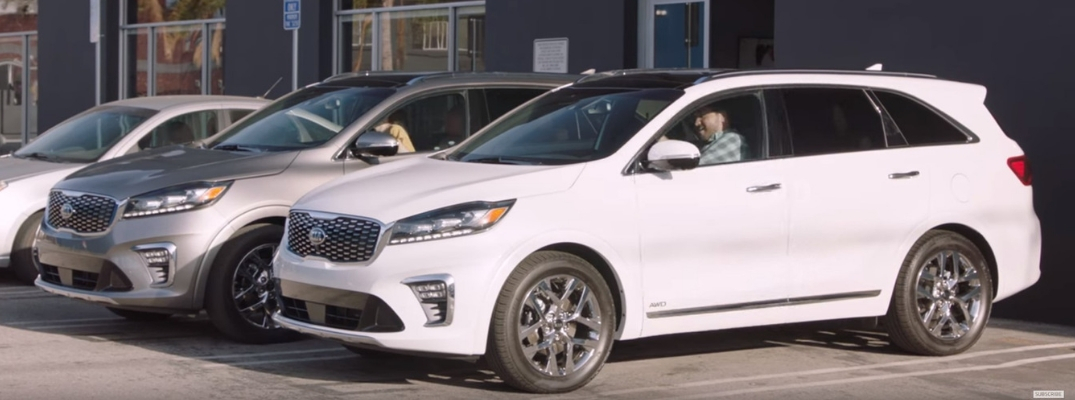Screenshot of Buzzfeed Video Starring the 2019 Kia Sorento