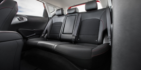 2020 Kia Soul Rear Seats in Black Trim
