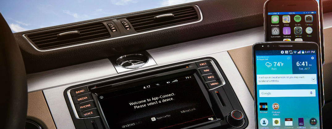 Next-Gen VW Car-Net Enhances Connectivity and Smartphone Integration at Karen Radley Volkswagen-woodbridge VA-Burke VA-Fairfax VA Stafford VA-Lorton VA-New VW Dealer-Volkswagen Car-Net Infotainment Interface