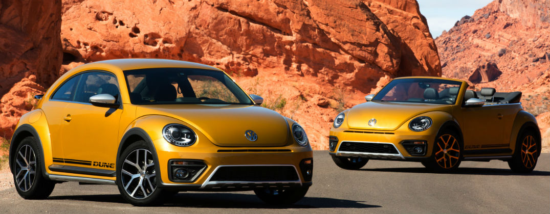 2016 Volkswagen Beetle Dune Design and Features at Karen Radley VW-Woodbridge VA-Yellow 2016 Volkswagen Beetle Dune Coupe and Convertible Exterior