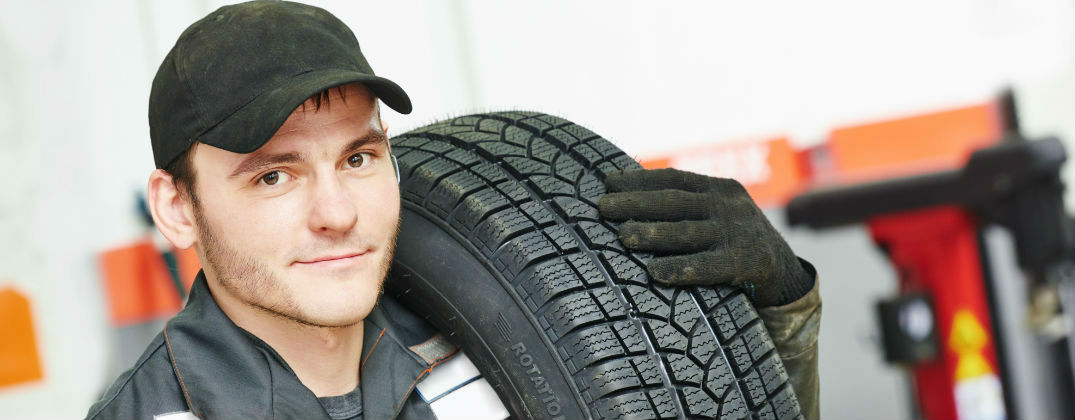 Learn How to Check the Tires on Your Volkswagen at Karen Radley Volkswagen-Woodbridge VA-Repairman with New Tires