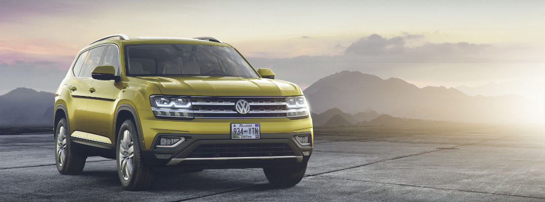 When is the 2018 Volkswagen Atlas release date?