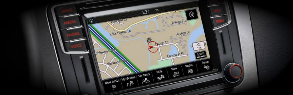 Do Any VW Vehicles Come Standard with Navigation?