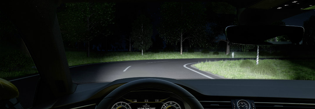Active lighting system will help illuminate the road ahead