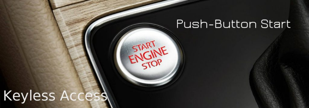 push button start   volkswagen