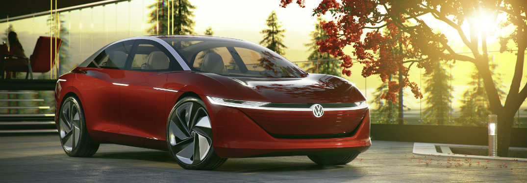 The Volkswagen I.D. VIZZION concept was officially unveiled at the 2018 Geneva Motor Show