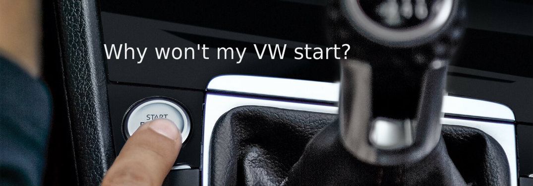 Why is my Volkswagen engine not starting?
