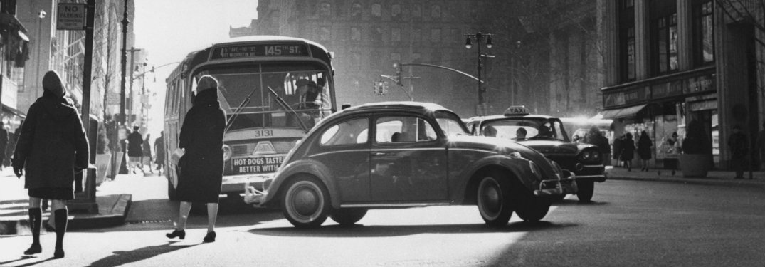 Vintage Beetle in NYC