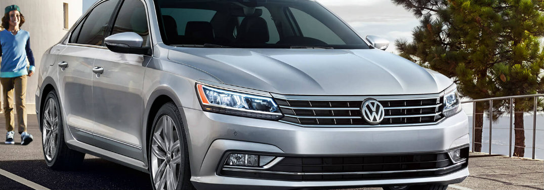 2018 Volkswagen Passat Silver Color Option