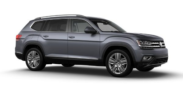 What colors does the 2019 Volkswagen Atlas come in?