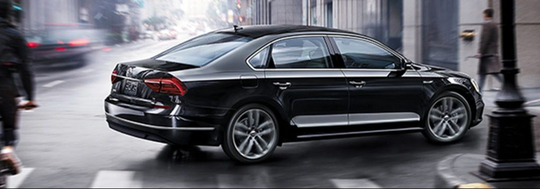 full view of the 2019 VW Passat