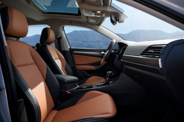 Air Design USA Jetta SEL interior front