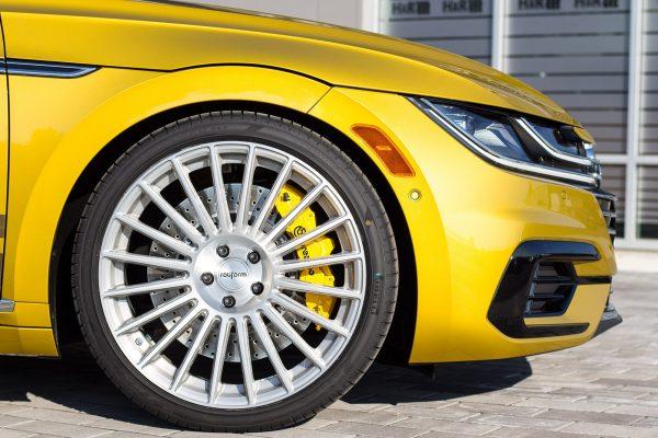 H&R Special Springs Arteon front wheel