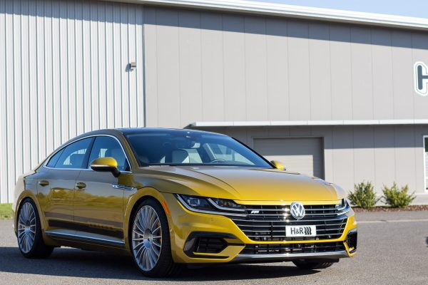 H&R Special Springs Arteon exterior front