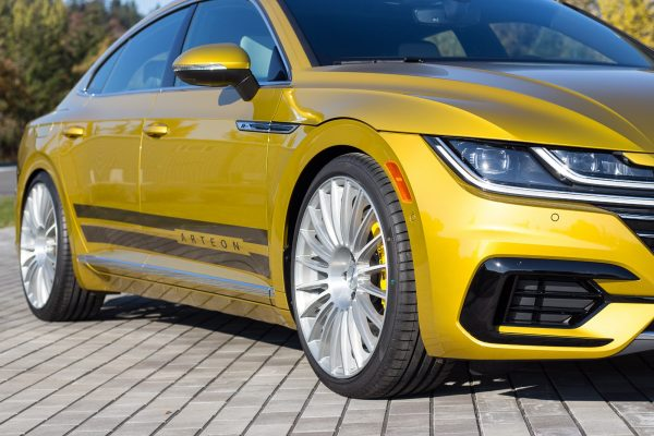 H&R Special Springs Arteon front grille