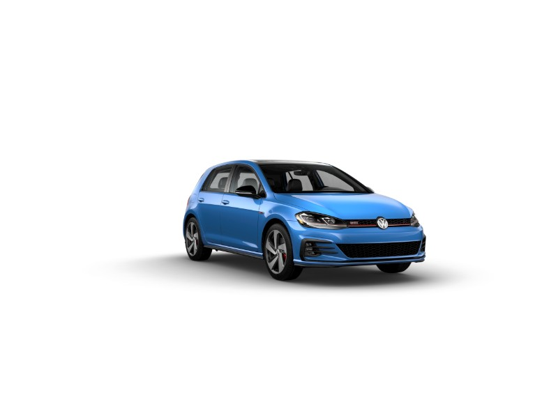2019 Volkswagen Golf GTI Cornflower Blue – Rabbit Edition Only2019 Volkswagen Golf GTI Cornflower Blue