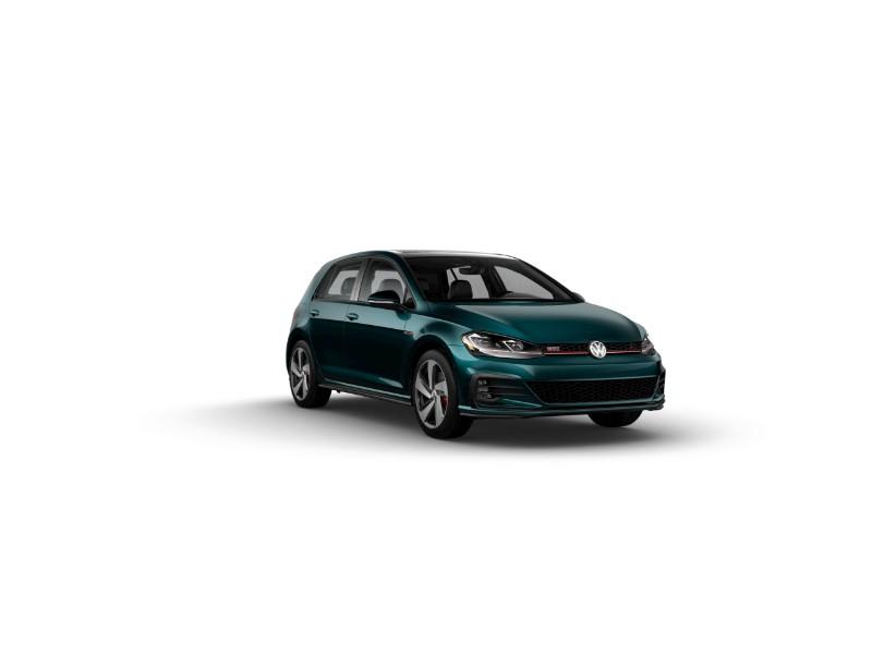 2019 Volkswagen Golf GTI Great Falls Green Metallic
