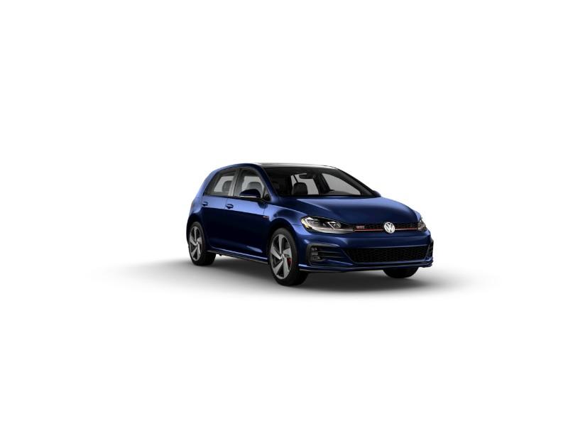 2019 Volkswagen Golf GTI Night Blue Metallic