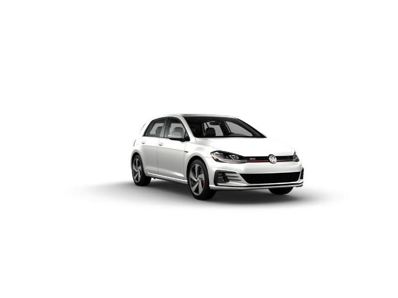 2019 Volkswagen Golf GTI Pure White