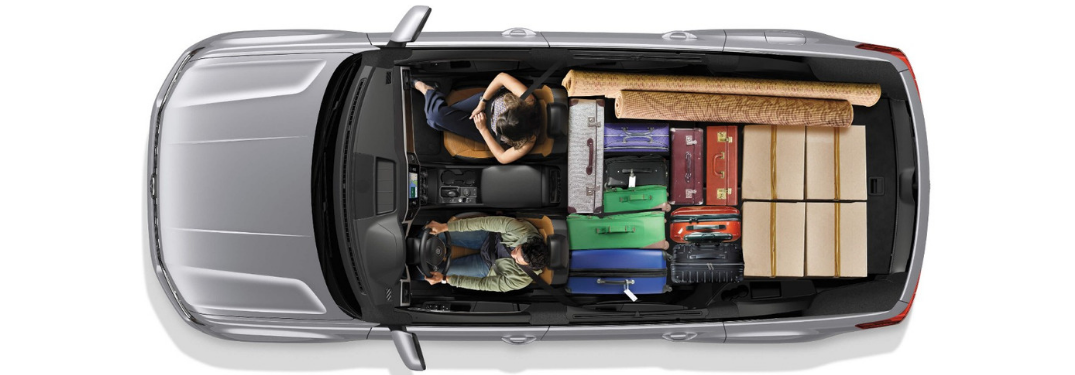 maximum cargo space inside the 2019 VW Atlas