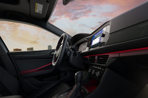2020 VW Jetta GLI cockpit showcase
