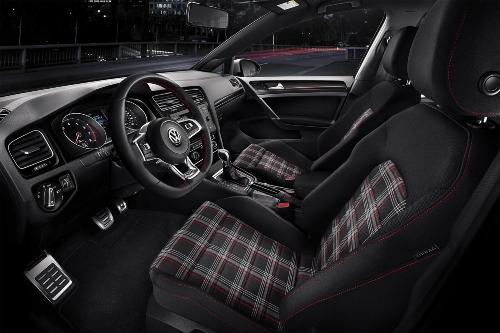 2019 Golf GTI Rabbit edition interior