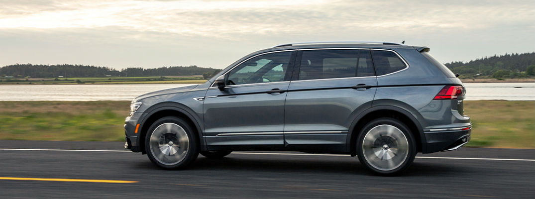 Side view of 2020 VW Tiguan
