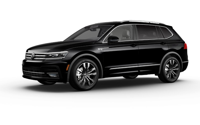 2020 VW Tiguan in Deep Black Pearl