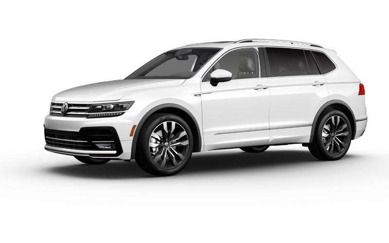 2020 VW Tiguan in Pure White