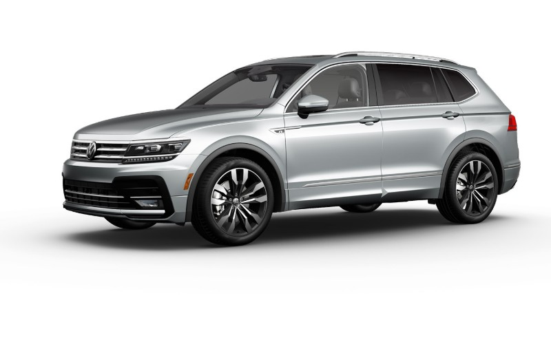 2020 VW Tiguan in Pyrite Silver Metallic