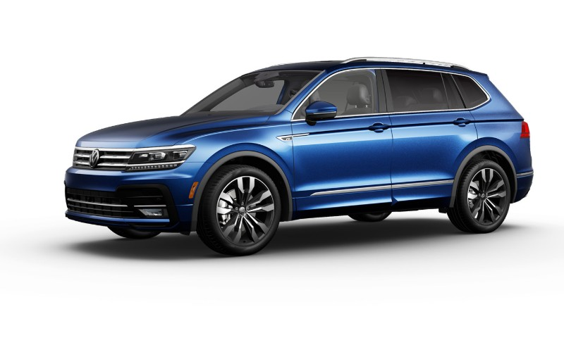 2020 VW Tiguan in Silk Blue Metallic