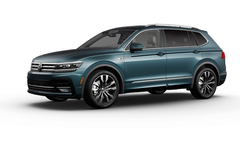 2020 VW Tiguan in Stone Blue Metallic