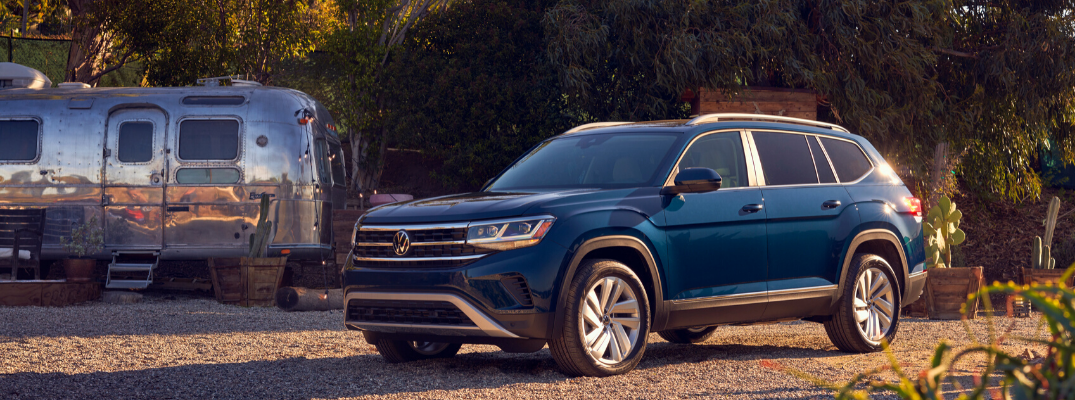 Blue 2021 VW Atlas