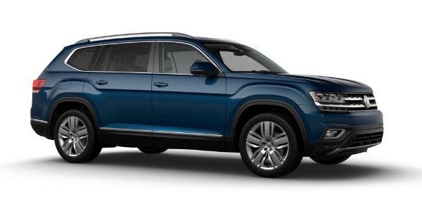 2020 Volkswagen Atlas Tourmaline Blue Metallic