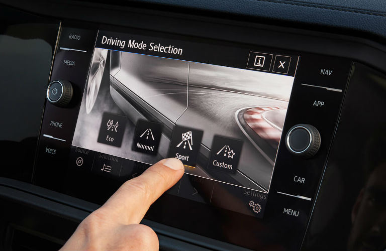 2020 Volkswagen Jetta driving mode selection feature