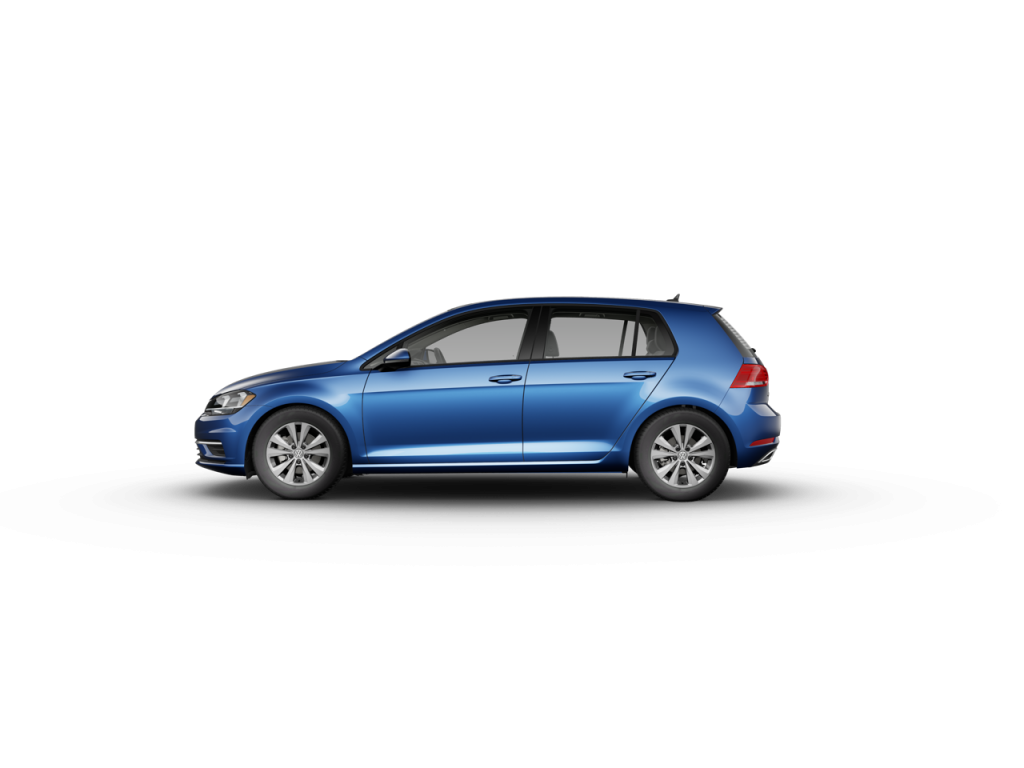 2020 Volkswagen Golf Silk Blue Metallic