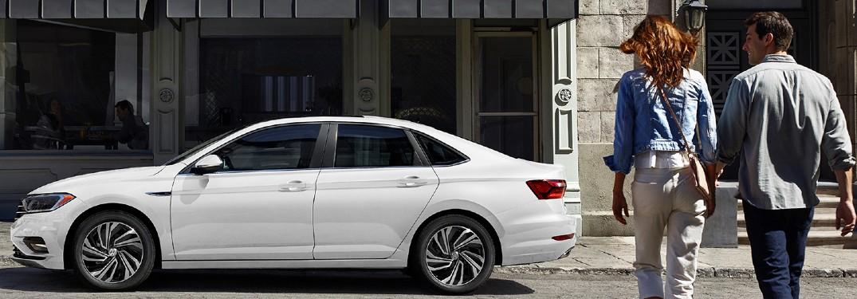 2020 Volkswagen Jetta parked on a street