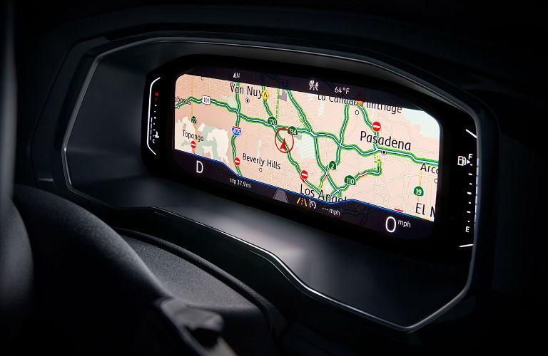2020 Volkswagen Jetta navigation screen