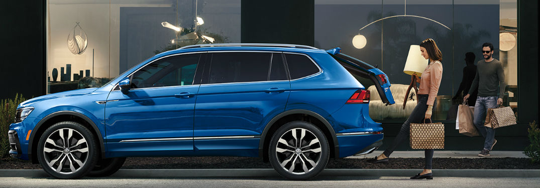 Plenty of passenger and cargo space available in the new 2020 Volkswagen Tiguan