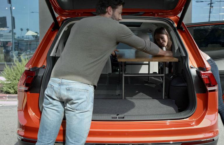 2020 Volkswagen Tiguan rear cargo area