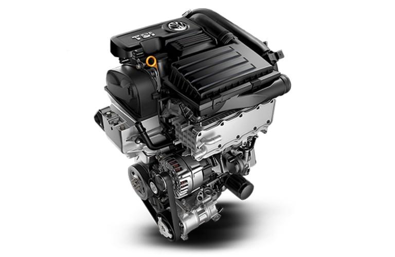 2020 Volkswagen Golf engine