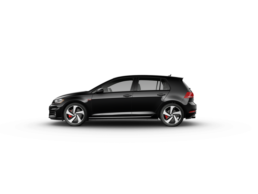 2020 Volkswagen Golf GTI Deep Black Pearl