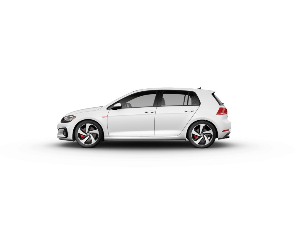 2020 Volkswagen Golf GTI Pure White