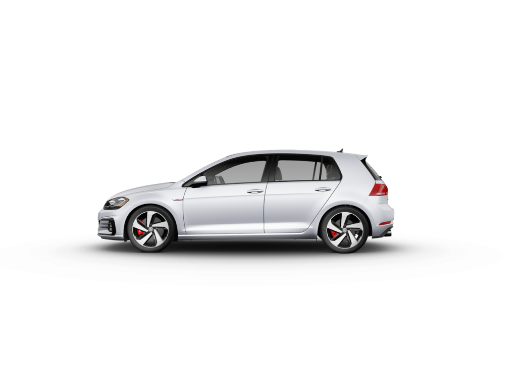 2020 Volkswagen Golf GTI White Silver Metallic