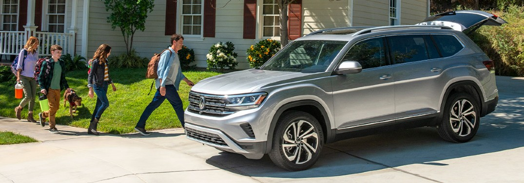 2021 Volkswagen Atlas crossover SUV offers an impressive list of family features